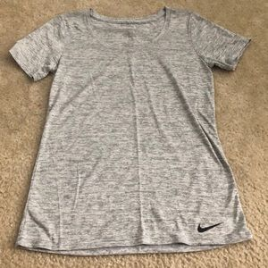 Never Worn Before Grey Nike Top